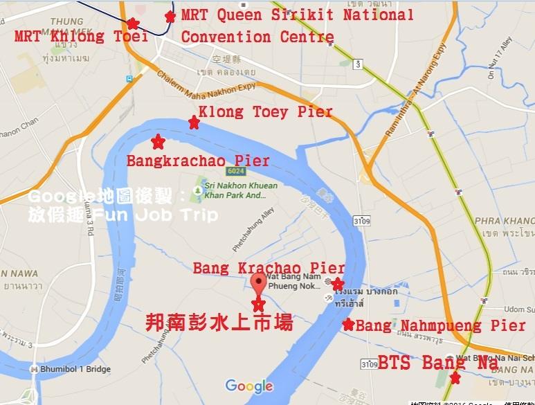 Bang Nam Pheung Floating Market地圖.jpg